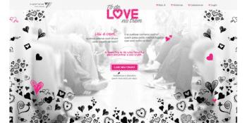 imagem app to de love no trem