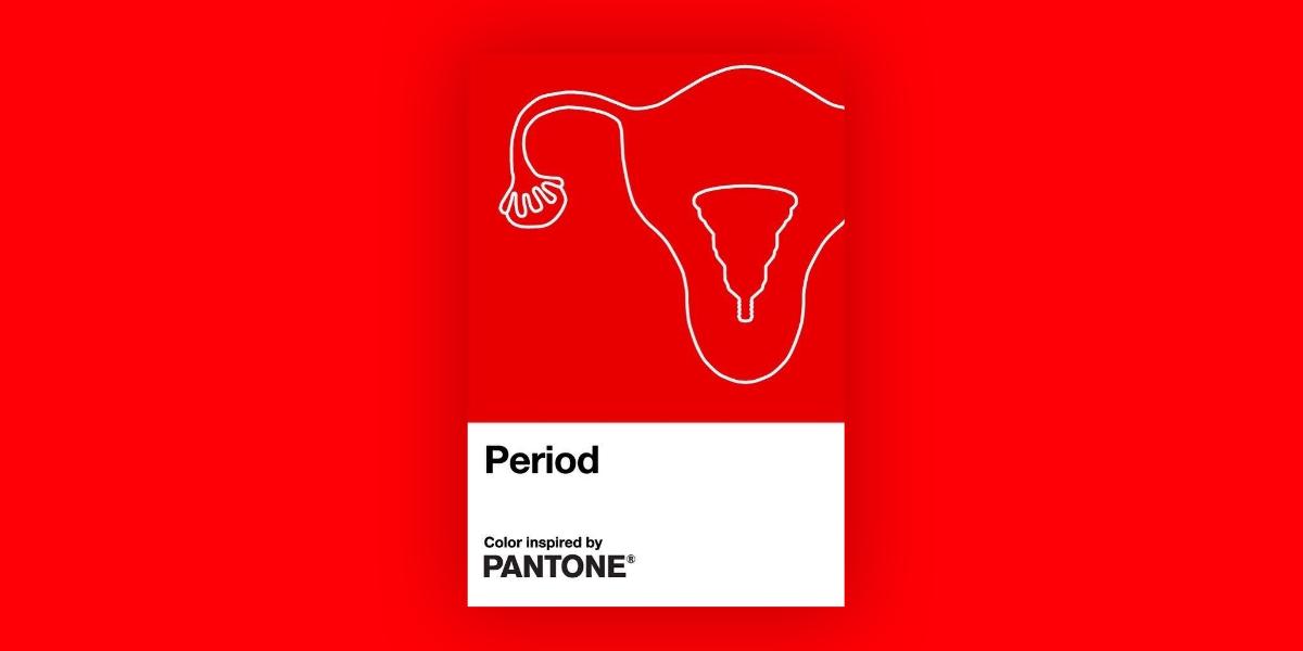 """Pantone lança """"vermelho menstruação"""" para acabar com estigmas"""