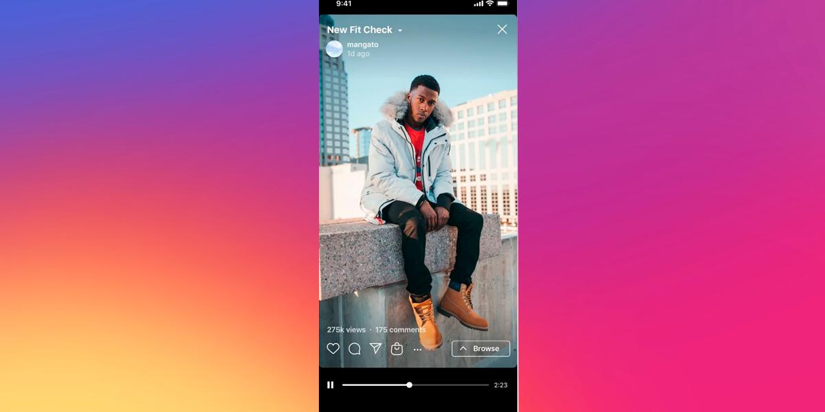 Marcação de produtos no Instagram chega ao IGTV