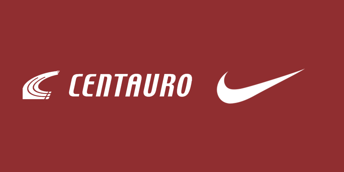 Nike Brasil agora é Centauro