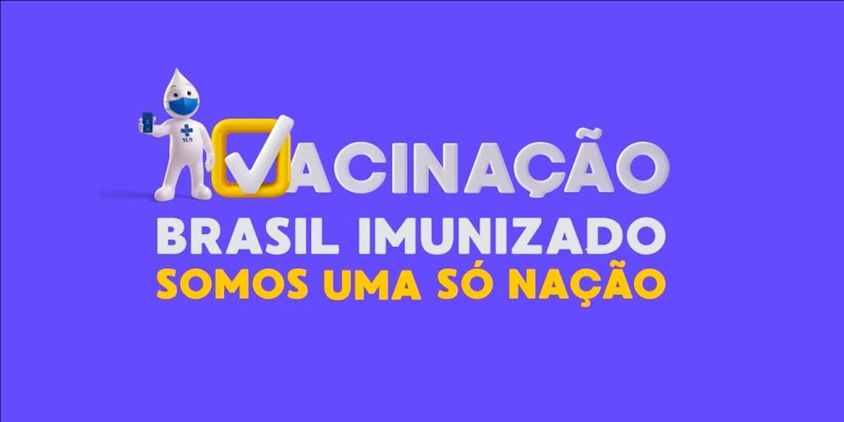 """Ministério da Saúde lança campanha """"Brasil imunizado"""""""