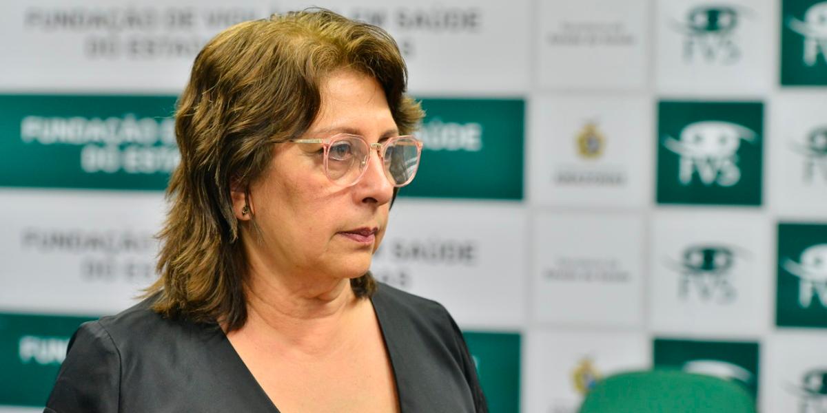 Rosemary Pinto, diretora-presidente da FVS-AM, morre vítima da Covid-19