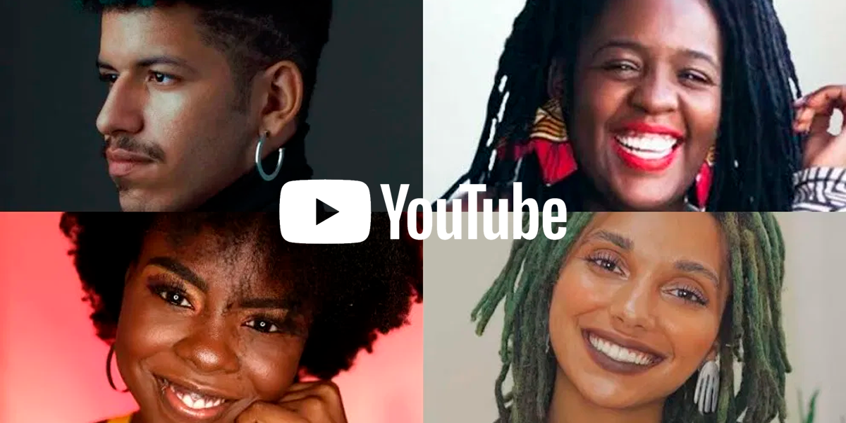 Fundo vozes negras do Youtube anuncia Nataly Néri, Spartakus e mais 33 brasileiros selecionados
