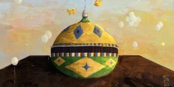 Balões Brancos na Cúpula do Teatro: a simbólica homenagem de Dave Carvalho para os manauaras que perderam suas vidas para a Covid-19