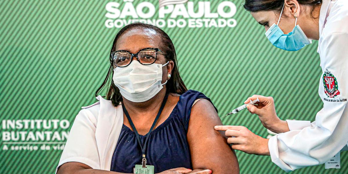 Início da vacinação no Brasil