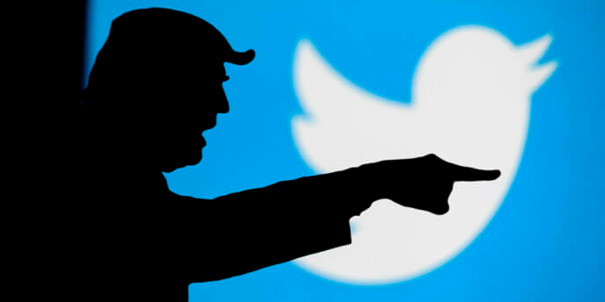 Donald Trump é banido do Twitter