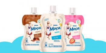 """Famoso nos anos 90: """"Mocinha"""" da Nestlé volta ao mercado como 'Moça mini'"""