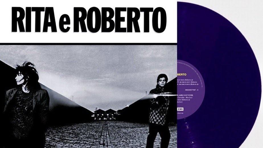 Rita Lee e Roberto de Carvalho relançam álbum de 1985, em LP, com vinil roxo