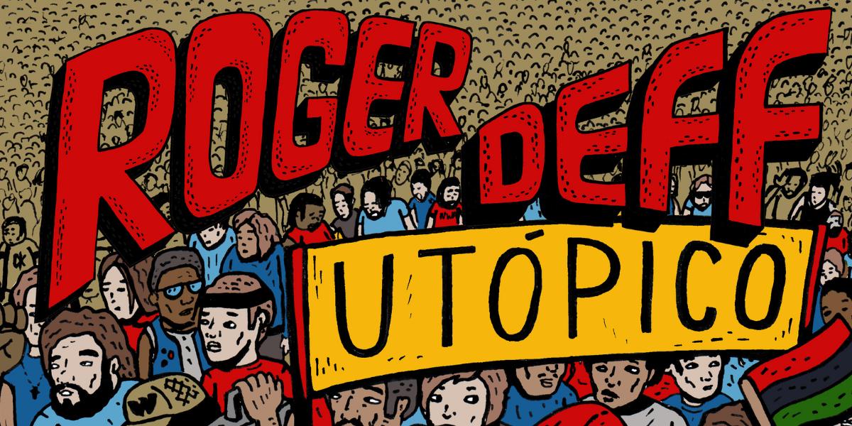 """Roger Deff lançará o single """"Utópico"""" no dia 20 de agosto"""