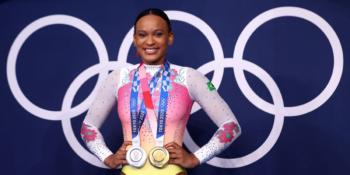 Riachuelo anuncia patrocínio à Rebeca Andrade para Olimpíada de Paris