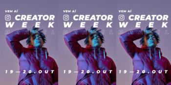 Instagram abre inscrições para primeira Creator Week Brasil