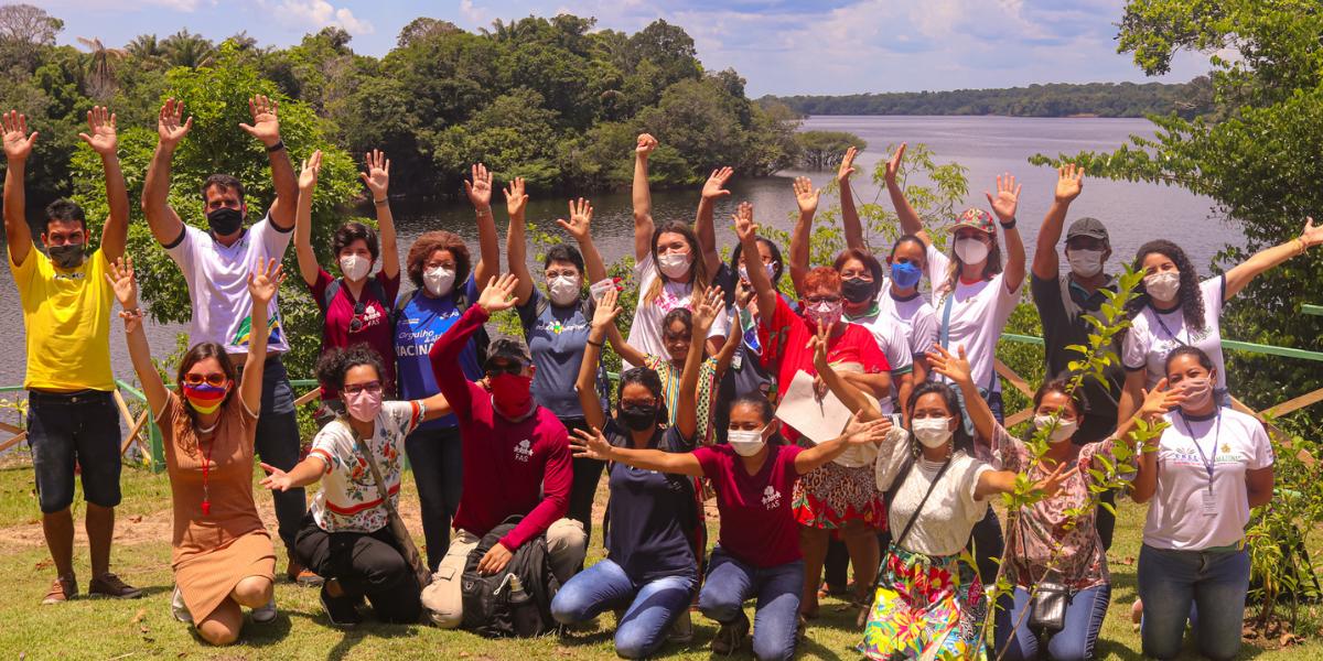 FAS lança projeto que incentiva meninas ribeirinhas no esporte